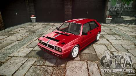Lancia Delta HF Integrale Dealers Collection para GTA 4