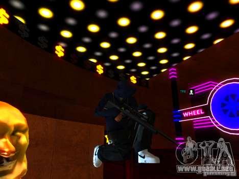New Weapons para GTA San Andreas sexta pantalla