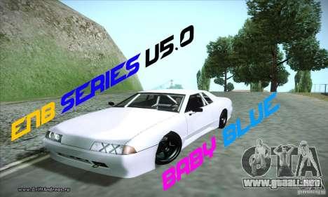 ENBSeries v5.0 Baby Blue para GTA San Andreas