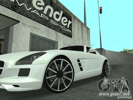 Luxury Wheels Pack para GTA San Andreas tercera pantalla