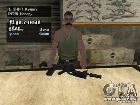 Armas Pak domésticos para GTA San Andreas