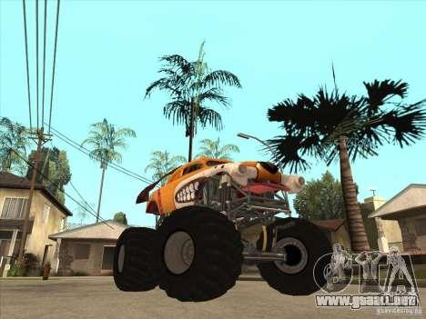 Monster Mutt para GTA San Andreas vista hacia atrás