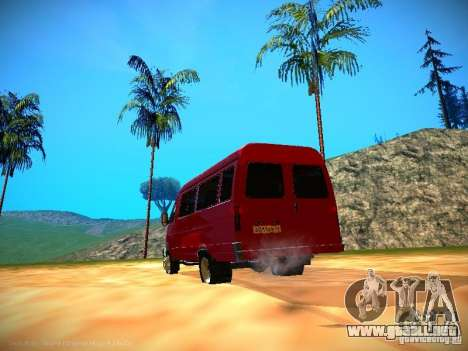 Gacela 32213 negocios v1.0 para GTA San Andreas interior