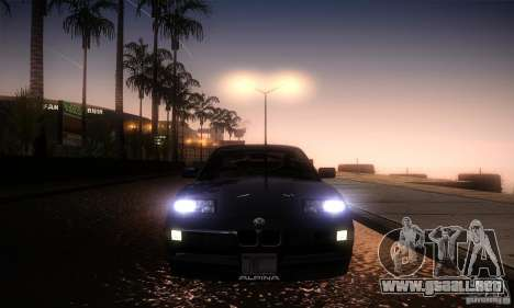 BMW Alpina B12 850i para visión interna GTA San Andreas
