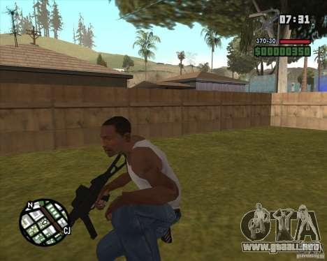 Ump 45 v 2.0 para GTA San Andreas segunda pantalla