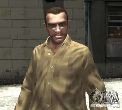 Nuevas gafas para Niko-brillante para GTA 4