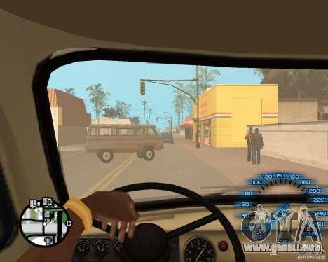 Manos normales CJâ para GTA San Andreas sexta pantalla