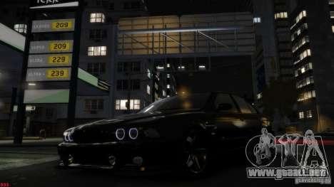 BMW M5 E39 AC Schnitzer Type II v1.0 para GTA 4 Vista posterior izquierda