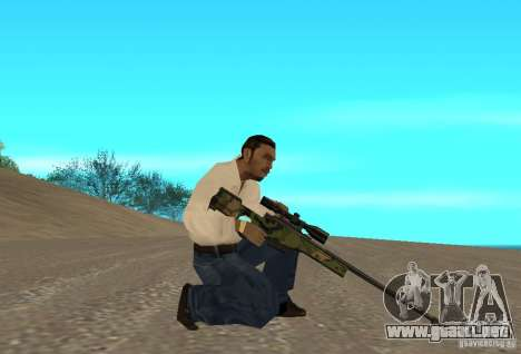 L118A Collection Wooland para GTA San Andreas segunda pantalla