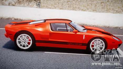 Ford GT 2006 v1.0 para GTA 4 vista interior