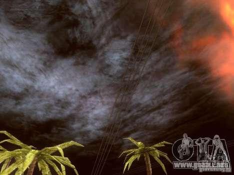 Atomic Bomb para GTA San Andreas sucesivamente de pantalla