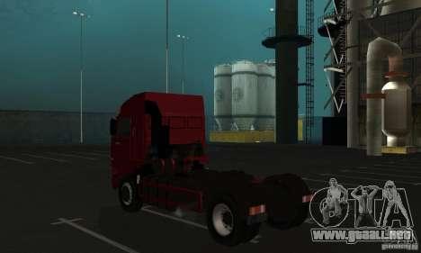 KAMAZ 5460 piel 1 para la visión correcta GTA San Andreas