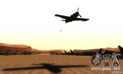 ENB by rybamolot para GTA San Andreas quinta pantalla