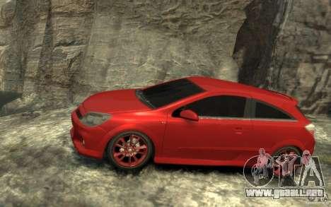 Vauxhall Astra VXR 2006 para GTA 4 left