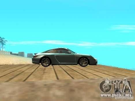Porsche 997 GT3 RS para visión interna GTA San Andreas