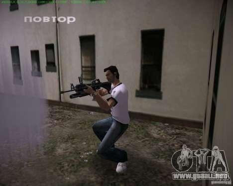 M-16 de Scarface para GTA Vice City tercera pantalla