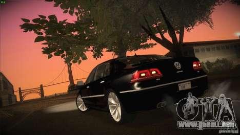 Volkswagen Phaeton W12 para la vista superior GTA San Andreas