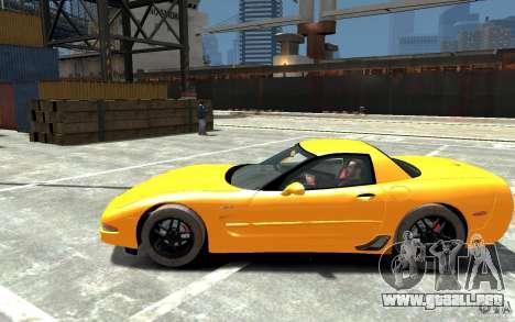 Chevrolet Corvette C5 2005 para GTA 4 left
