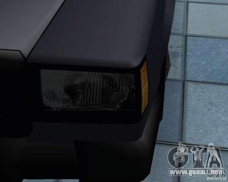 Nuevas máquinas de textura para GTA San Andreas octavo de pantalla
