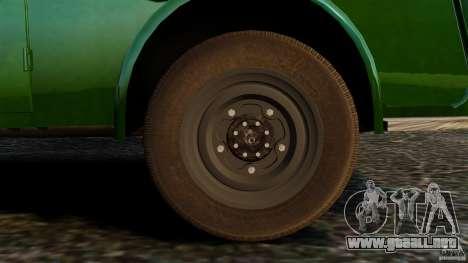Tempo Matador 1952 para GTA 4 vista interior