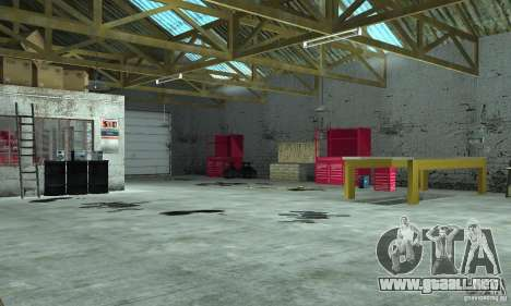 GTA SA Enterable Buildings Mod para GTA San Andreas tercera pantalla