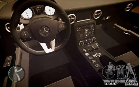 Mercedes-Benz SLS63 AMG para GTA 4 Vista posterior izquierda