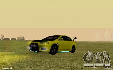 Mitsubishi Lancer Evolution Drift para GTA San Andreas