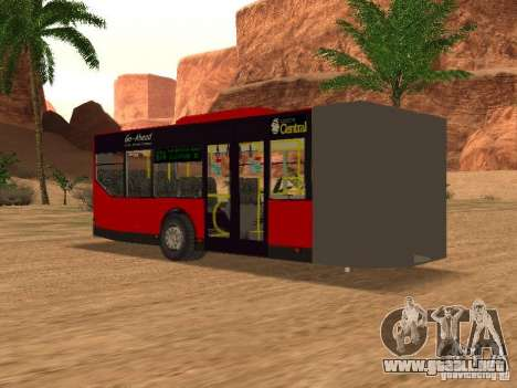 Trailer de la Mercedes-Benz Citaro G para GTA San Andreas left
