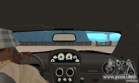 Panoz Esperante GTLM 2005 para GTA San Andreas vista hacia atrás