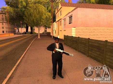 TeK Weapon Pack para GTA San Andreas segunda pantalla