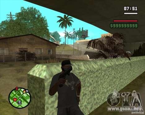 Sistema de refugios (sistema de cubiertas) v1 para GTA San Andreas segunda pantalla