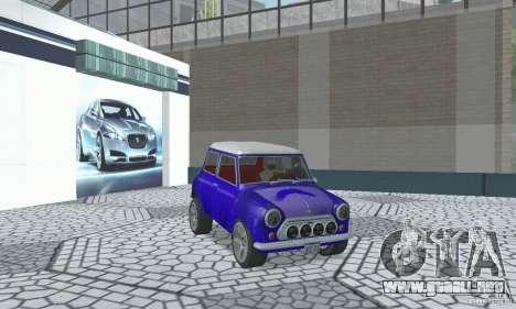 Mini Cooper S para visión interna GTA San Andreas