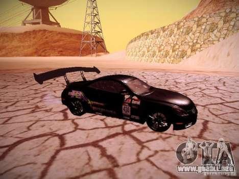 Lexus SC430 Daigo Saito para la visión correcta GTA San Andreas