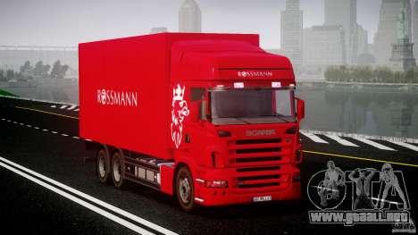 Scania R580 Tandem para GTA 4