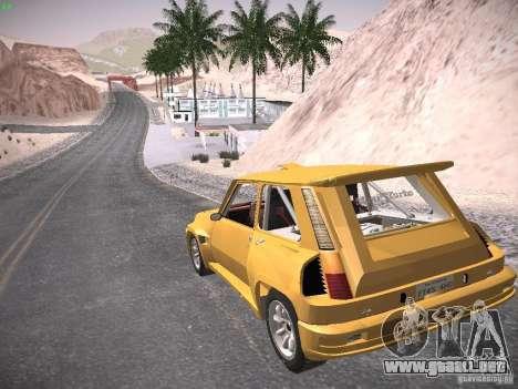 Renault 5 Turbo para GTA San Andreas left