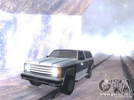 Snow MOD HQ V2.0 para GTA San Andreas sexta pantalla