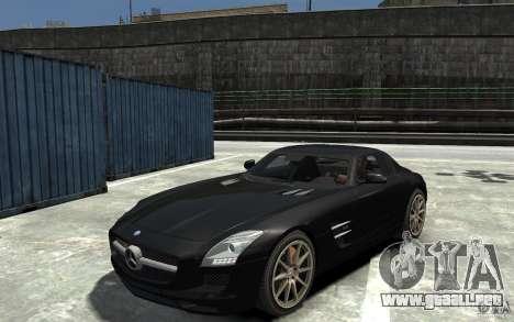 Mercedes-Benz SLS AMG 2011 v3.0 para GTA 4