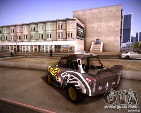Trabant drag para GTA San Andreas left