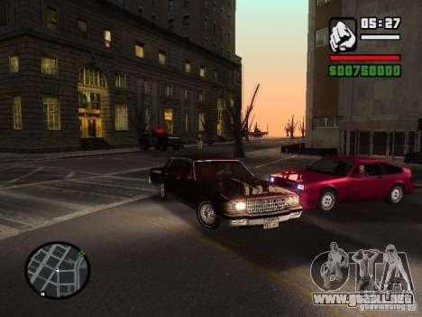 Chevrolet Caprice Classic 87 para la visión correcta GTA San Andreas