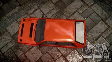 Lancia Delta HF 4WD para GTA 4 vista superior
