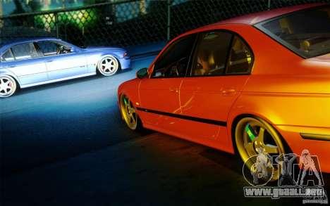 BMW M5 E39 para la visión correcta GTA San Andreas