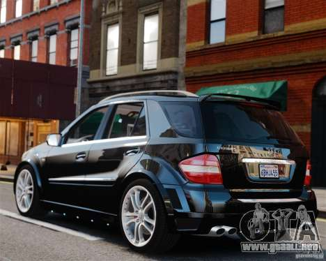 Mercedes-Benz ML Brabus 2009 para GTA 4 left