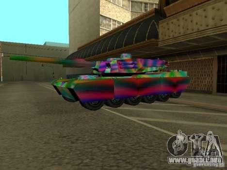 Un tanque de color alegre para GTA San Andreas
