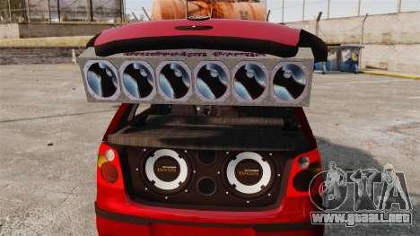 Volkswagen Polo Edit para GTA 4 vista lateral