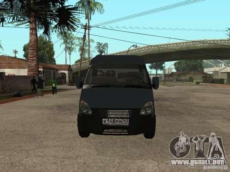 Empresas gacela 2705 para GTA San Andreas left