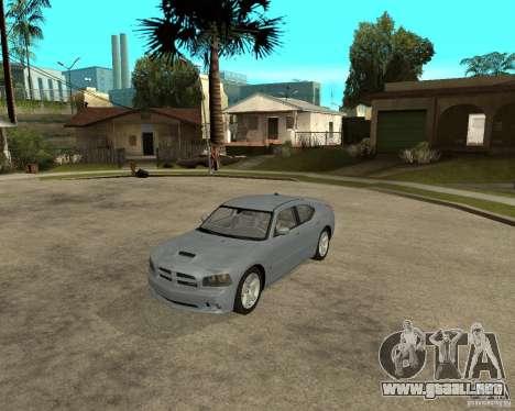 Dodge Charger SRT8 para GTA San Andreas left
