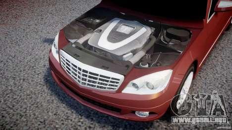 Mercedes-Benz C 280 T-Modell/Estate para GTA 4 vista hacia atrás