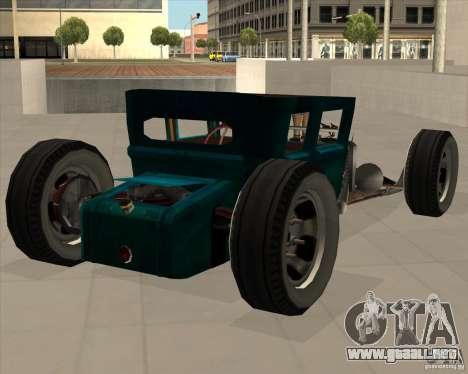 Ford model T 1925 ratrod para la visión correcta GTA San Andreas