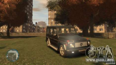 Mercedes-Benz G500 para GTA 4 left