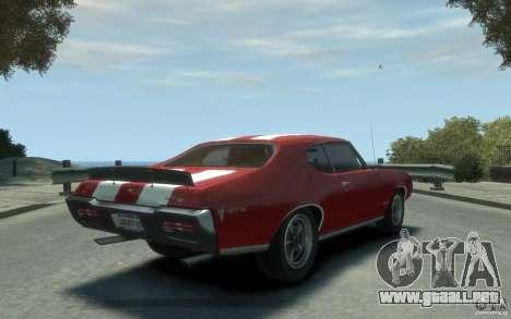 Pontiac GTO Hardtop 1968 v1 para GTA 4 visión correcta